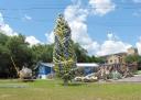 the holiday tree ofbuoys